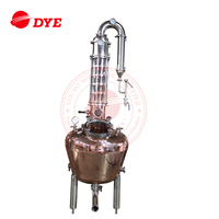 250LGlass Copper Distillation Column Ethanol distiller