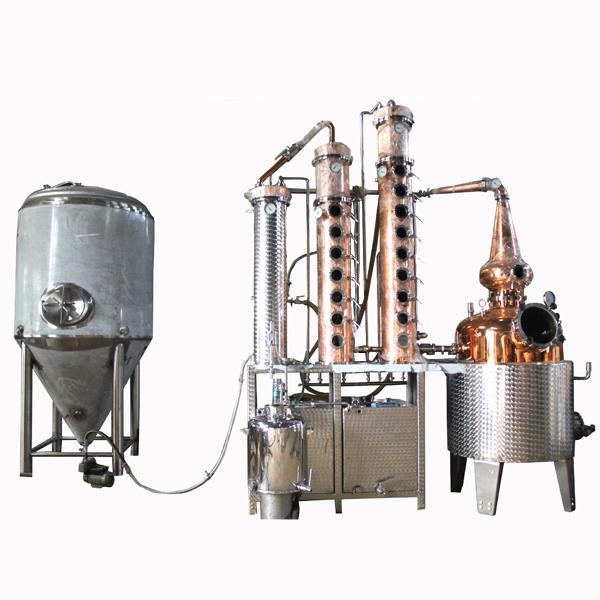 500L vodka distilling machine still equipment