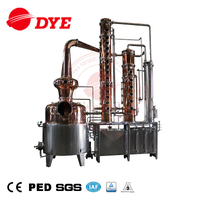 500L Industrial Steam Alcohol Distillation Equipment Wine Spirits