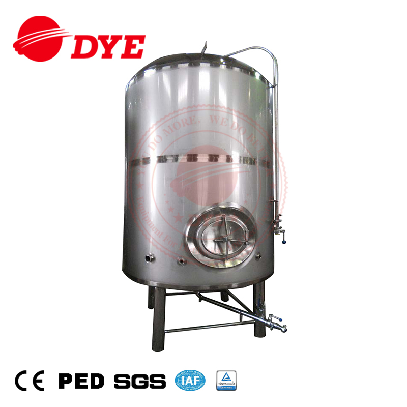 DYE stainless steel Bright Beer Tanks water storage for sale