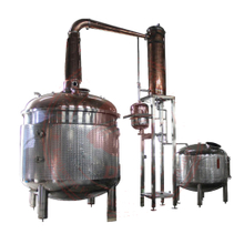 steam heating alcohol distilling equipment distillery machine