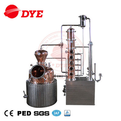 batch distillation brandy distillery equipment craft distiller
