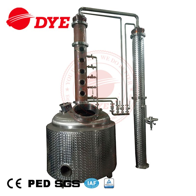 stainless wine tanks automatic copper alembic distiller for sale