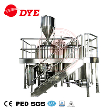 20bbl Commercial 2 vessel brewing house(steam heating)