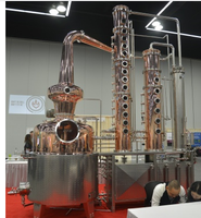 compound still alcohol production vacuum distillation equipment wash copper still pot