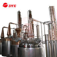 Stainless Steel Vodka Rum Distillery Equipment