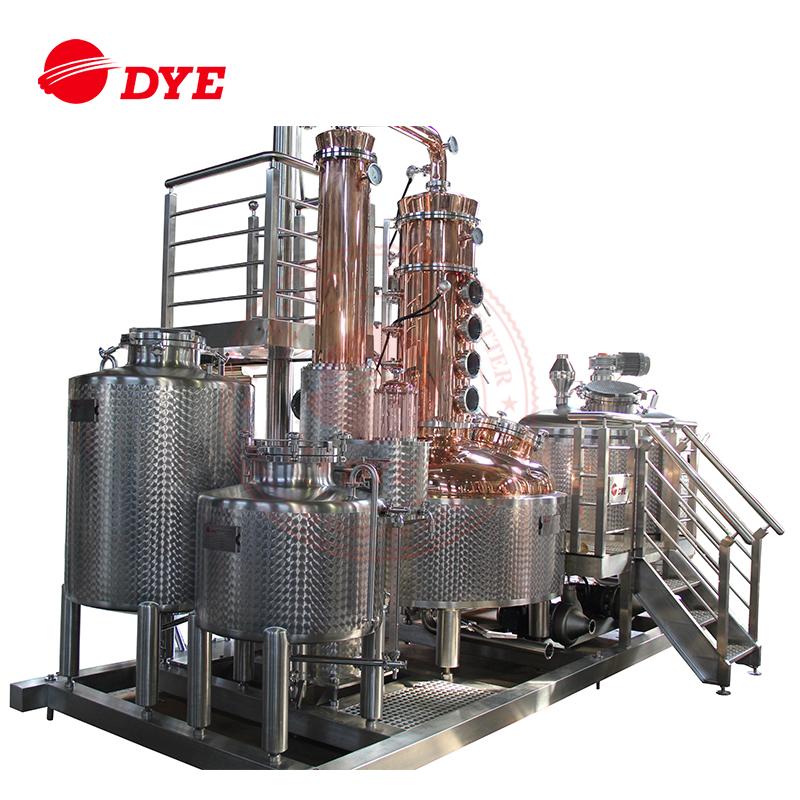2017 New Design industrial alcohol distillation equipment